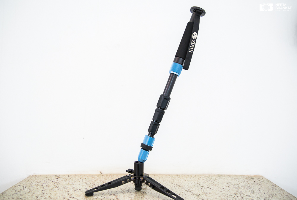 Ballhead to control tilt in the Best Video Monopod for Wedding Cinematography